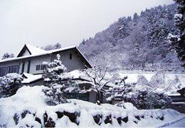 雪の三瓶山
