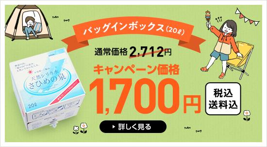 バッグインボックス20リットル キャンペーン価格送料込み1800円